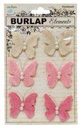 "Jute Butterflies ""CR23332"""