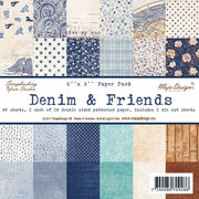 "Maja Design Denim & Friends 6""x6"" Paper Pack"