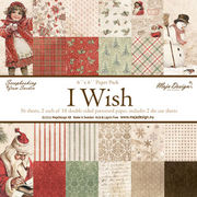 "Maja Design I Wish 6""x6"" Paper Pack"