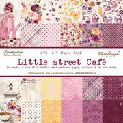 "Maja Design Little Street Cafe´ 6""x6"" Paper Pack"