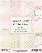 "Reprint Sweet Baby Collection Pink  6""x6"" Paper Pack"