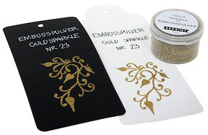 Embossausjauhe Gold Sparkle nr 23