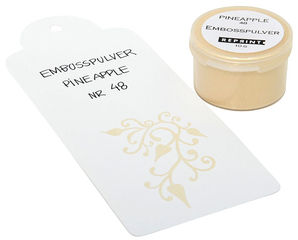 Embossausjauhe Pineapple no 48
