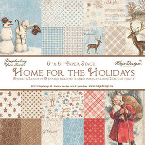 Maja Design Home for the Holidays Paper Stack 6x6""